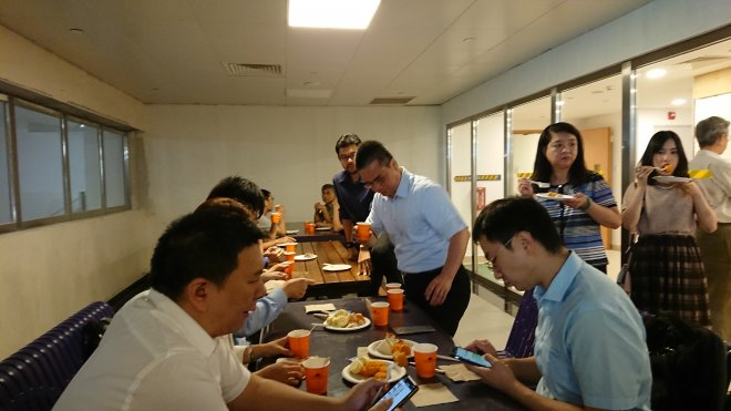 Lunch networking